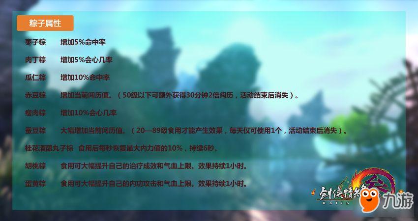 《剑网3》2019端午活触动父亲全