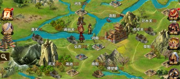 《三国志奇侠传》大地图更新_三国志奇侠传_九游手机