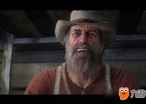 玩家用Mod展示荒野大年夜镖客2角色年老的面貌