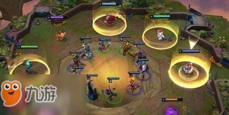 lol云顶之弈:元素六法双龙超强阵容搭配攻略