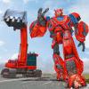 重型挖掘机机器人转型游戏