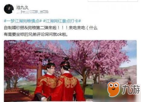 一梦江湖如何拍婚纱照?手把手教拍婚纱照