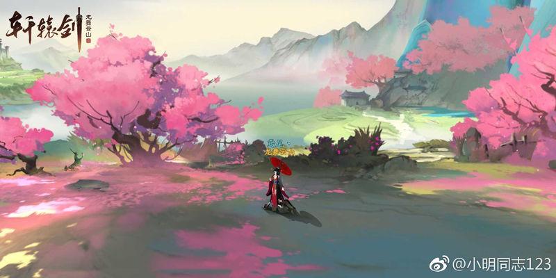 开测之后,少侠们终于能漫步在美轮美奂的盛唐山水之中啦~ 龙舞云山的
