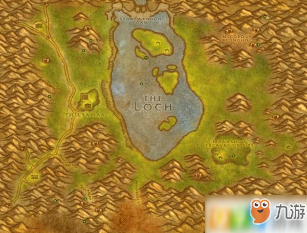 魔兽世界怀旧服洛克莫丹宝箱在什么位置 洛克莫丹宝箱位置介绍