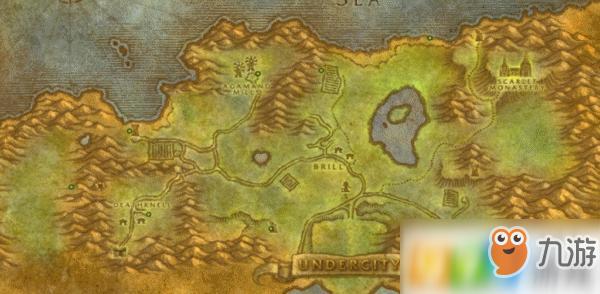 魔兽世界怀旧服提瑞斯法林地宝箱在哪 提瑞斯法林地宝箱位置介绍