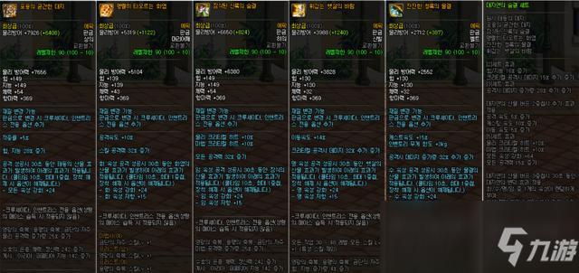 《DNF》100剑豪防具选择