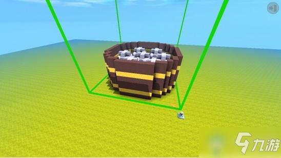 《迷你世界》小笼包微缩道具制作