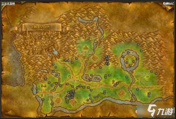 魔兽世界怀旧服 铜矿攻略 铜矿推荐挖矿点