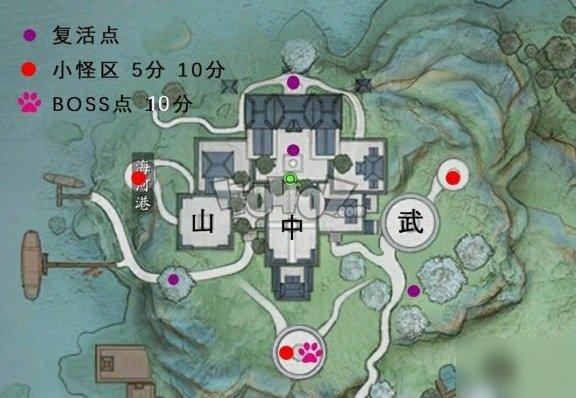 《天涯明月刀手游》主战场联赛地图指挥图文教程 帮派联赛怎么打