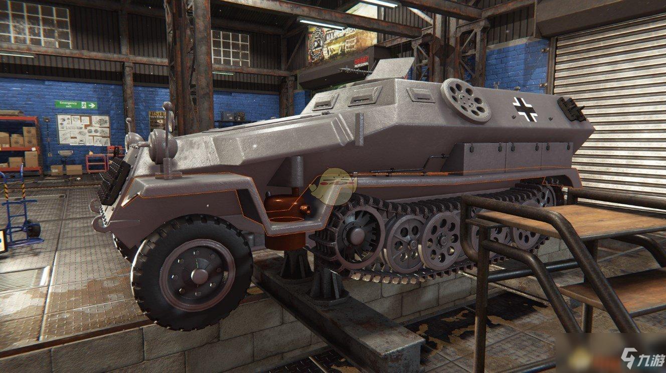 《坦克维修模拟》好玩吗 游戏特色玩法内容