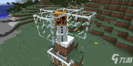 《我的世界》自动造雪机怎么做 自动造雪机制作步骤图文教程