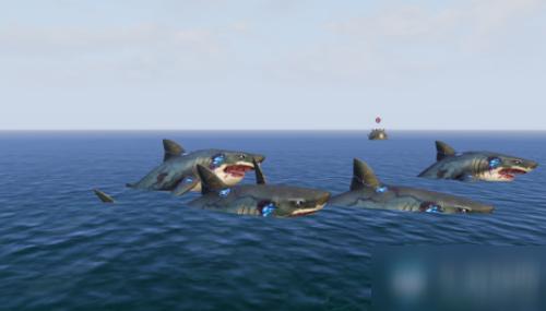 《明日之后》海岛暗礁躲避变异鲨鱼攻略 操作方法分享