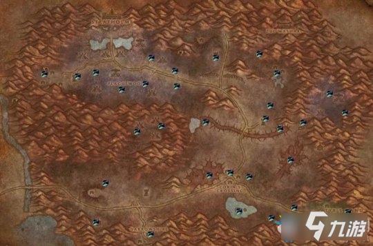 《魔兽世界怀旧服》新版黑莲花在哪里 全地图刷新点一览