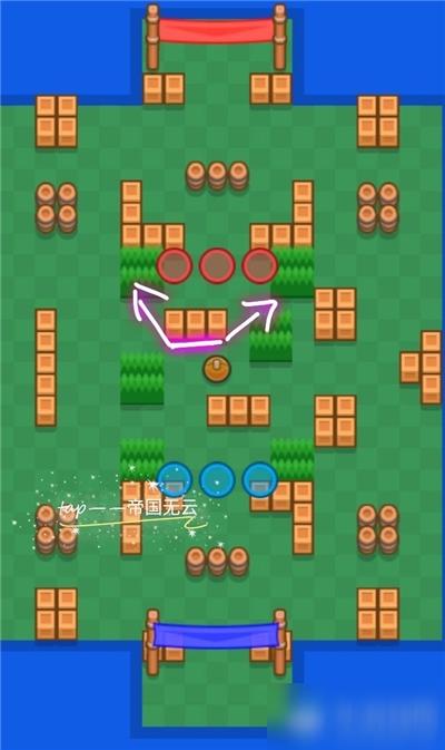 《荒野乱斗》足球模式多重威胁地图怎么玩 多重威胁地图玩法攻略