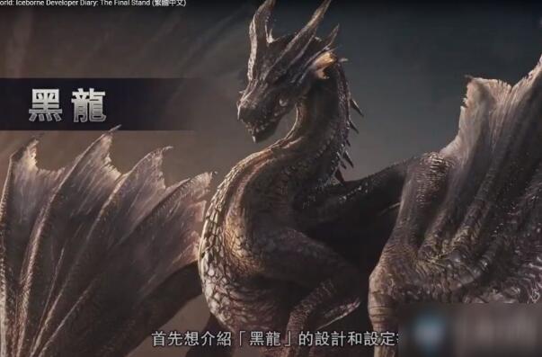 《怪物猎人世界》冰原黑龙更新时间介绍 黑龙什么时候更新