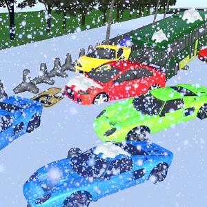 Winter pileup Snow Car Parking加速器