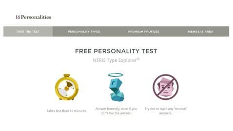 16 personalities test 2017游戏截图2