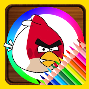 Coloring Book For Angry Birds加速器