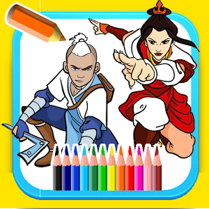 coloring book for avatar加速器