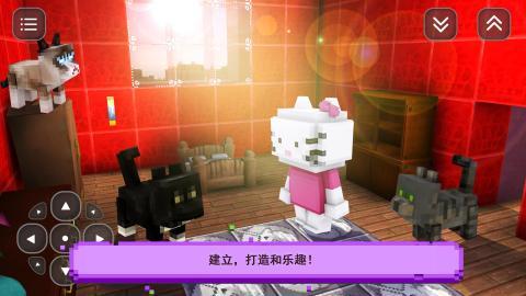 猫游戏的故事: 一个女孩的游戏创意 Girls Craft截图1