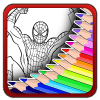 Art Spider Coloring Book加速器