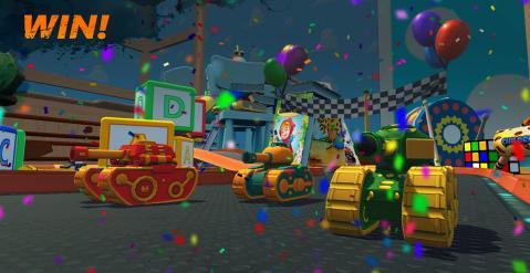 坦克竞速赛3d游戏截图0