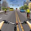 自行车赛车和四人特技加速器