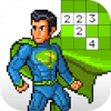 Superhero No.Draw – Superhero Color by Number加速器