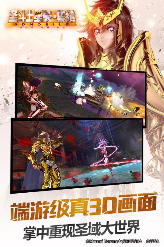 圣斗士星矢-集结游戏截图2