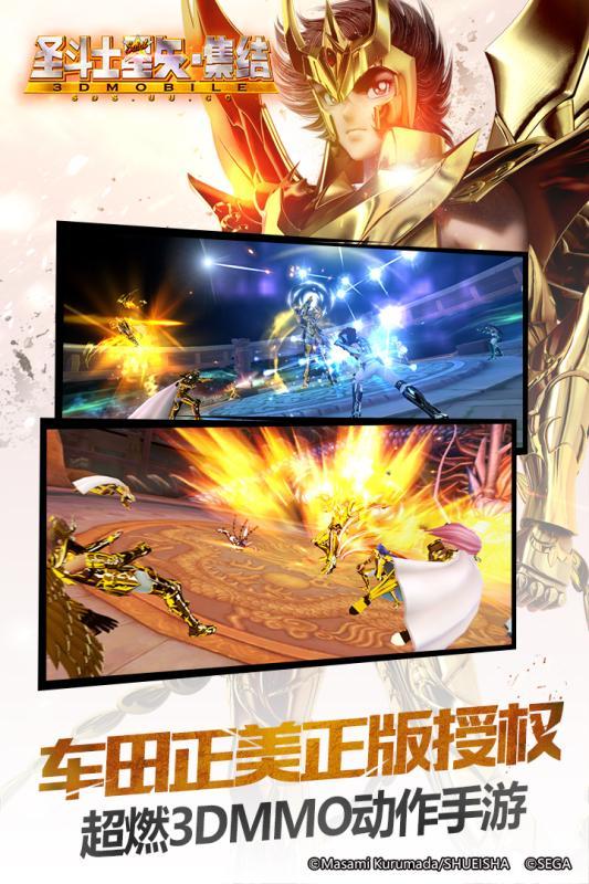 圣斗士星矢-集结游戏截图0