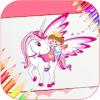 Coloring Pages for Kids - Unicorn Colors加速器