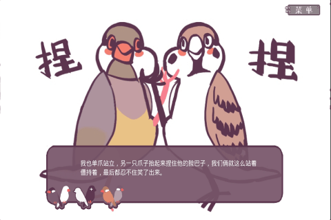 文鸟恋爱物语