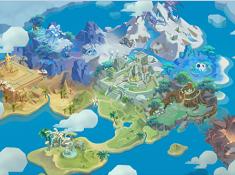 《最后的原始人》地图原画大曝光