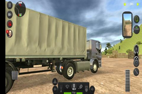 模拟卡车真实驾驶