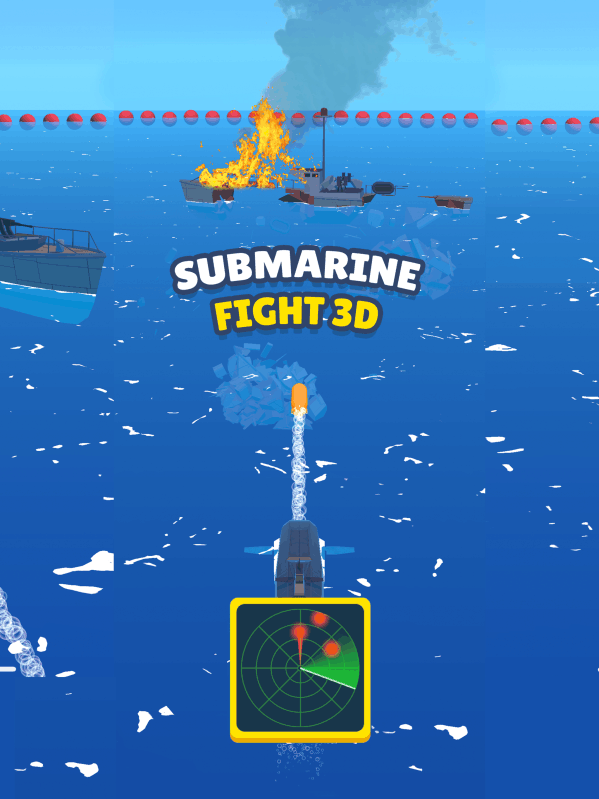 SubmarineFight3D截图2
