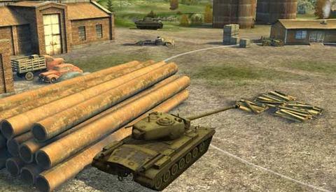 坦克世界闪电战手游虎王
