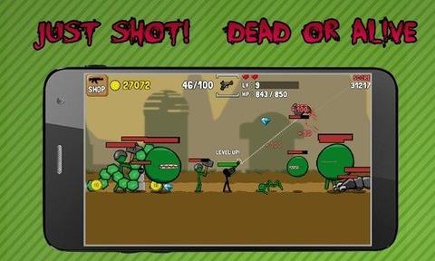 火柴人枪手完美版游戏截图3
