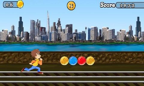 Q版地铁跑酷游戏截图5
