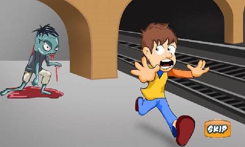 Q版地铁跑酷游戏截图4