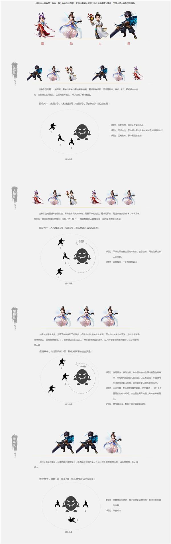 大话西游热血版最强阵容搭配推荐: 万能队怎么搭配?[多图]图片2