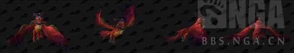 魔兽世界小德月翼形态图片