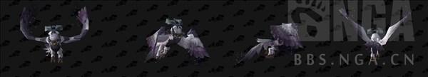 魔兽世界月翼形态图片