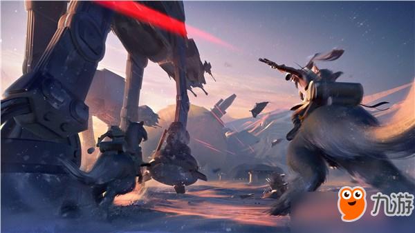 《星球大战:前线2》概念原画欣赏 震撼星球大战