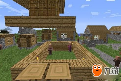 我的世界村庄人口上限是多少_我的世界村庄图片