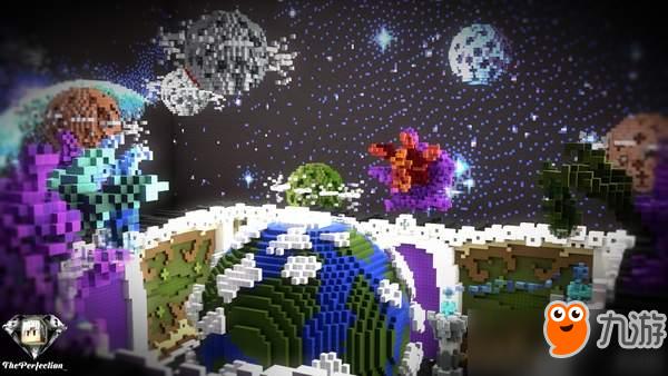 《我的世界》团队打造绚烂银河系 星辰大海浩瀚壮丽