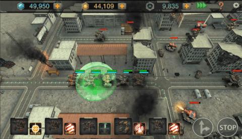 文明战争:移动西装游戏截图3