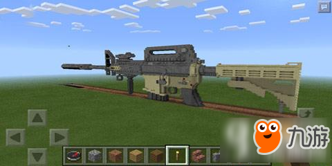 我的世界0.14一键生成M4A1JS插件下载