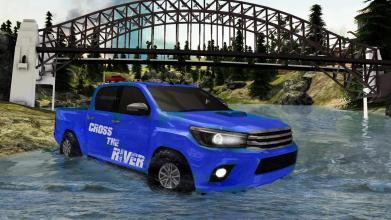 越野Hilux的爬坡卡车最新版手游下载 第6张
