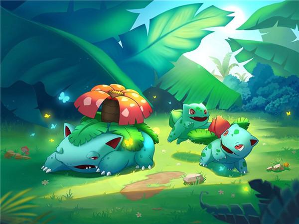 《口袋超萌》精灵百科-妙蛙种子超人气御三家