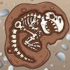 恐龙游戏的孩子史前侏罗纪公园